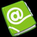 read, reading, book, address icon