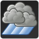 weather, showers icon