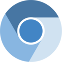 chromium flat icon