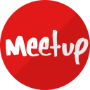 meetup, network, social, media, meet, communication icon