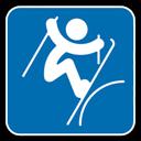 style, , Skiing, Slopestyle icon