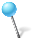 azure, left, mapmarker, ball icon