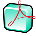 adobe, acrobat, distiller icon