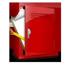 clipboard, locker icon