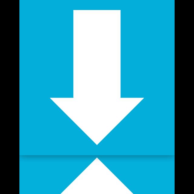 downloads, mirror icon