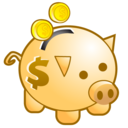 ciclis, deposit, money, save, piggy bank icon