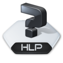Misc file hlp icon