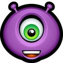 emot, monsters, amazed, monster, glad, happy, avatar icon