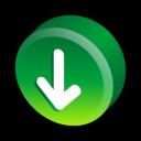 download, alternate, descending, descend, fall, down, decrease icon