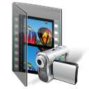 video, my video, folder icon