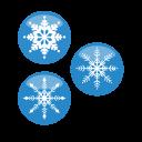 Christmas Snow Flakes icon