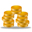 cash, coins, earning, statements, money, invoice icon