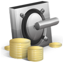 cash, vault, coin, safe, money, currency icon