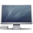 Cinema Display Macmini graphite icon