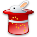 rabbit, magic icon