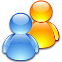 friends, users, group, people icon