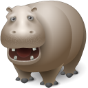 animal, hippo, hippopotamus icon