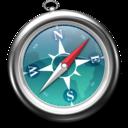 Safari less saturation icon