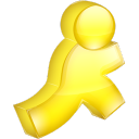 AIM yellow icon