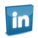 3d, Linkedin icon