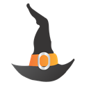 Hat, , Witch icon