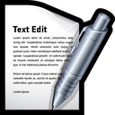 mac, edit, word, write, text icon