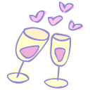 drink cheers icon