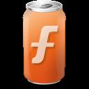 Drink, Furl, Texto, Web icon
