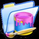 paint, draw, painting, folder icon