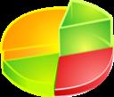 chart, analytics, diagram, pie icon
