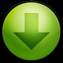 arrow, decrease, down, descend, fall, download, descending icon