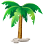 coco, palm, relax, island, palms, traveling, sand, holiday, coconut, travels, islands, travel icon