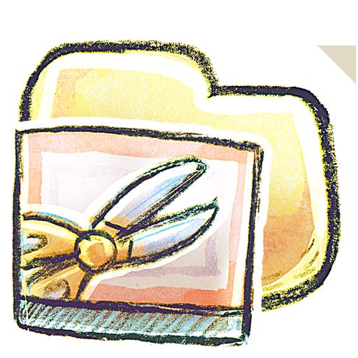 screenshot, folder icon