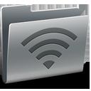 folder, broadcast icon