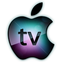 Apple, , Logo, Tv icon