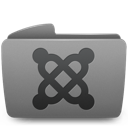 Folder, Joomla icon