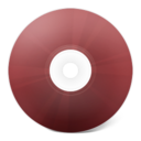 CD rouge icon