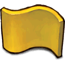 yellow,flag icon