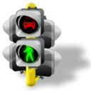 Lights, Traffic icon
