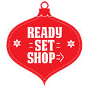 set, ready, shop icon
