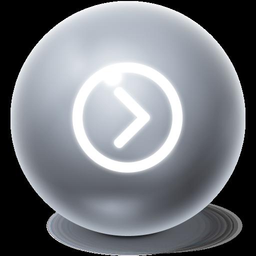 ball, bright icon