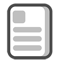 Document, Text icon