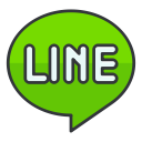 line, online, internet, social, media, network, communication icon