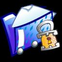 locked, folder, lock, security icon