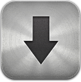 Downloads, Metal icon