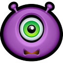 monsters, monster, scared, avatar icon