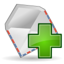 Mail, Message, New icon