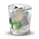 Full, Glass, Recycle icon