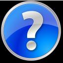 help, blue, circle, round icon