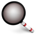 Magnify Red icon
